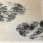 Tekstile billeder 25 Textile collage