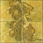 Tekstile billeder 26 Textile collage