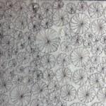 Tekstile billeder 11 Textile collage