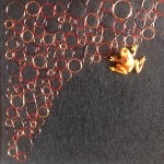 Tekstile billeder 7  Textile collage