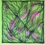 Tekstile billeder 1 Textile collage