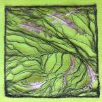 Tekstile billeder 2 Textile collage