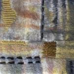 Tekstile billede 32 Textile collage