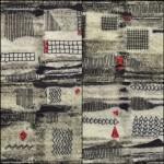 Tekstile billede 34 Textile collage