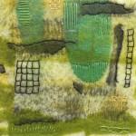 Tekstile billede 33 Textile collage