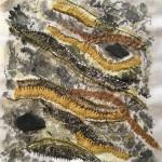 Tekstile billede 37 Textile collage